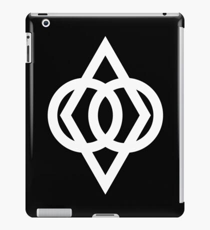 Protected (White) iPad Case/Skin
