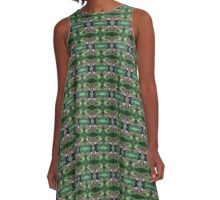 Ivy in the Woods A-Line Dress