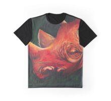 Red Rhino Graphic T-Shirt