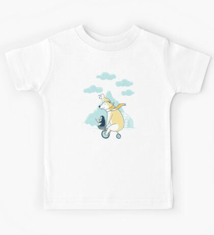 Icy Expedition Tees & Hoodies Kids Tee