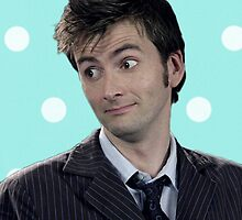 Tenth Doctor (with polka dots) by infinite-tardis
