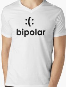Bi polar T-shirt Funny cool T shirt T-Shirt cool Shirt mens T Shirt geek shirt geeky shirt (also available on crewnecks and hoodies) SM-5XL Mens V-Neck T-Shirt