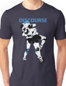 Blue Discourse Unisex T-Shirt