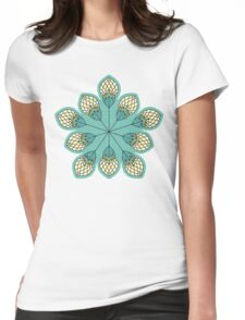Windy Buds Womens Fitted T-Shirt