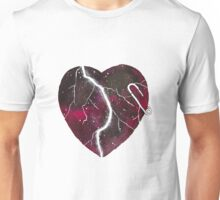Stand Against Hate Watercolor Heart Unisex T-Shirt