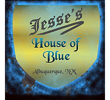Jesse's House of Blue Photographic Print