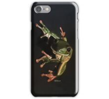 White Lipped Tree Frog Kuranda iPhone Case/Skin