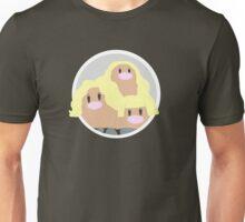 Alolan Dugtrio Icon Unisex T-Shirt