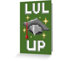 Lvl Up! Greeting Card