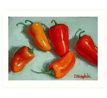Mini Pepper Study No 3 Art Print
