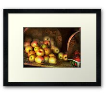 The Fruit Stand Framed Print