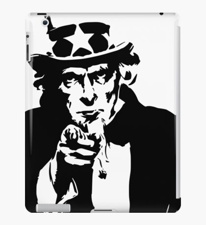 Uncle Sam Pointing iPad Case/Skin