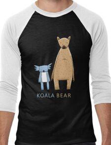 Cute Koala Bear Men's Baseball ¾ T-Shirt