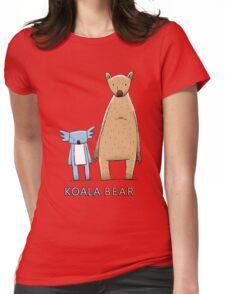 Cute Koala Bear Womens Fitted T-Shirt