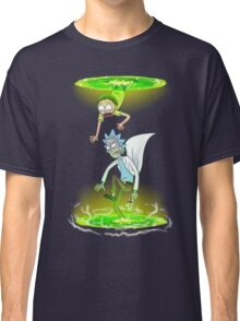 Rick and Morty (Portals) Classic T-Shirt
