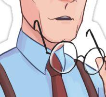 Annoyed Rupert Giles Sticker