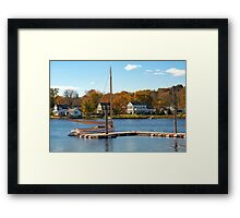 Autumn In Connecticut Framed Print