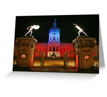 red light district Greeting Card
