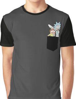 Rick and Morty Pocket Tees Graphic T-Shirt