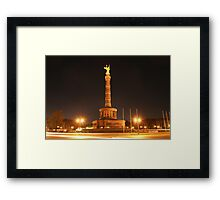 roundabout Framed Print