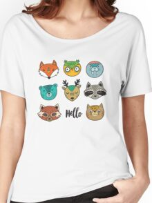 Animals portrait Women's Relaxed Fit T-Shirt