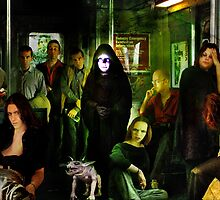 Midnight on the Subway by Nadya Johnson