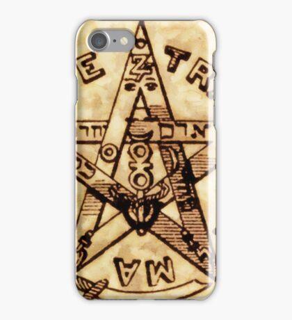 Freemason Symbolism by Pierre Blanchard iPhone Case/Skin