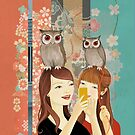 The Owl Cafe by Sonia Kretschmar
