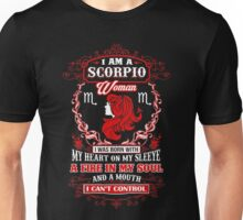 I Am A Scorpio Woman Unisex T-Shirt