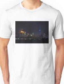 Moody Supermoon Over Toronto Unisex T-Shirt