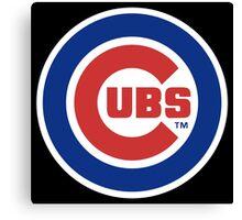 Cubs Baseball Premium Design Canvas Print