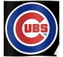 Cubs Baseball Premium Design Poster