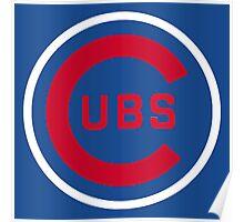 Cubs Baseball Premium Quality Poster