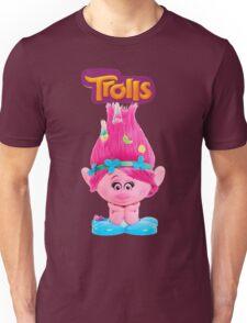 poppy from trolls Unisex T-Shirt