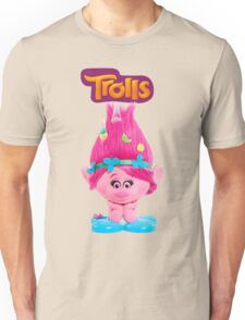 poppy from trolls Unisex T-Shirt