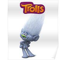 Guy Diamond of trolls Poster