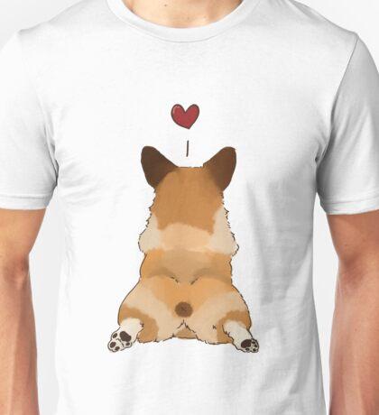 Corgi butt <3 Unisex T-Shirt