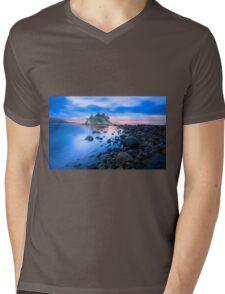 Gentle Sunrise Mens V-Neck T-Shirt