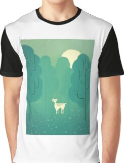 Goat forest Graphic T-Shirt