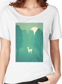 Goat forest Women's Relaxed Fit T-Shirt