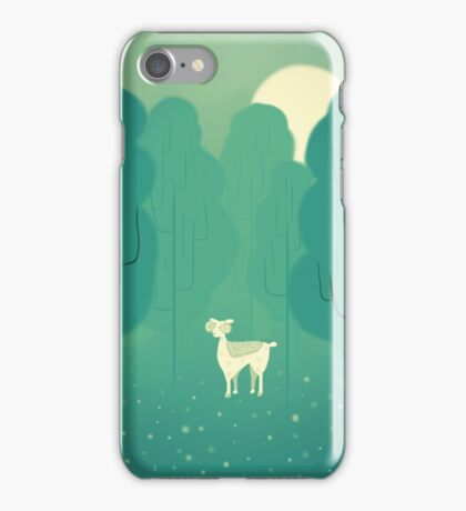 Goat forest iPhone Case/Skin