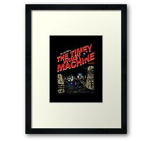 The Timey Wimey Machine Framed Print