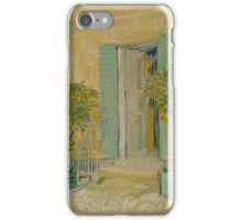 Exterior of a Restaurant in Asnières Paris, May - June  Vincent van Gogh  iPhone Case/Skin