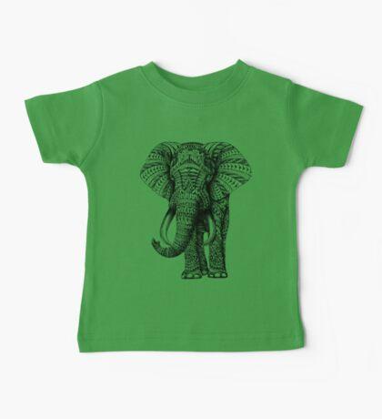 Ornate Elephant Baby Tee