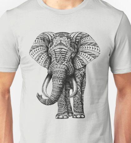 Ornate Elephant Unisex T-Shirt