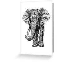 Ornate Elephant Greeting Card