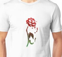 Rose Inspired Silhouette Unisex T-Shirt