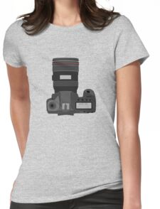 Canon 5D Womens Fitted T-Shirt