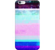 Galaxy Glitch iPhone Case/Skin