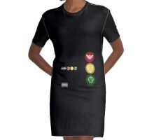 Link-182 Take off Your Shield and Tunic Graphic T-Shirt Dress